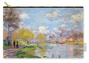 Spring By The Seine Carry-all Pouch