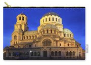 St Alexander Nevsky Cathedral At Dusk Sofia Bulgaria Carry-all Pouch