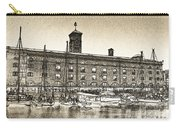 St Katherine's Dock London Sketch Carry-all Pouch