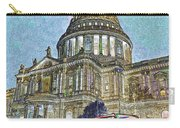 St Paul's Cathedral London Art Carry-all Pouch