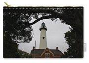 St Simons Island Lighthouse Carry-all Pouch