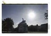 Statue Of Angel Of Peace Atop The Wellington Arch Carry-all Pouch