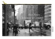 Stay Merry - Christmas Is Coming - Holiday And Christmas Card Carry-all Pouch