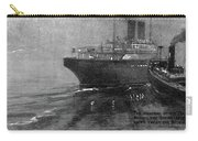 Steamship Accident, 1914 Carry-all Pouch