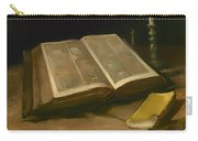 Still Life With Bible Carry-all Pouch