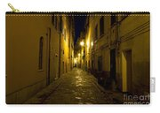 Street Alley By Night Carry-all Pouch