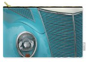 Street Car  Blue Grill With Headlight Carry-all Pouch