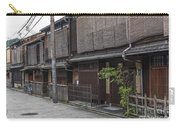 Street In Kyoto Japan Carry-all Pouch