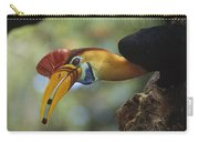 Sulawesi Red-knobbed Hornbill Male Carry-all Pouch