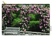 Pink Rose Garden Carry-all Pouch