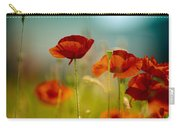 Summer Poppy Carry-all Pouch by Nailia Schwarz
