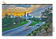 Sun Setting Over Charlotte North Carolina A Major Metropolitan C Carry-all Pouch