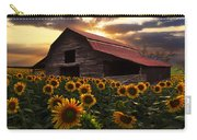 Sunflower Farm Carry-all Pouch