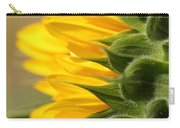 Sunflower From The Color Fashion Mix Carry-all Pouch