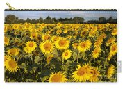 Sunflowers At Dawn Carry-all Pouch