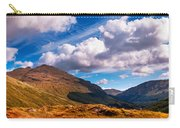 Sunny Day At Rest And Be Thankful. Scotland Carry-all Pouch