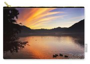 Sunrise Over An Alpine Lake Carry-all Pouch