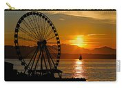 Sunset Ferris Wheel Carry-all Pouch