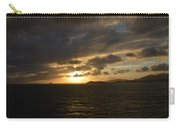 Sunset In The Caribbean Carry-all Pouch