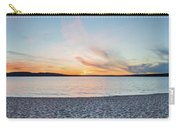 Sunset On South Bay, Lake Superior Carry-all Pouch
