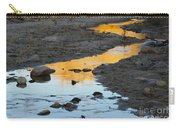 Sunset Reflected In Stream, Arizona Carry-all Pouch