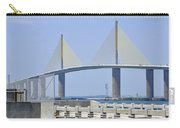 Sunshine Skyway Bridge I Tampa Bay Florida Usa Carry-all Pouch