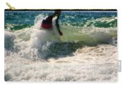 Surfing In California Carry-all Pouch