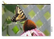 Tiger Swallowtail On Coneflower Carry-all Pouch
