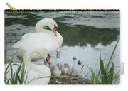 Swan Family Carry-all Pouch