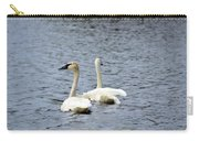 2 Swans Carry-all Pouch