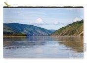 Taiga Hills At Yukon River Near Dawson City Carry-all Pouch
