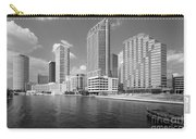 Tampa Skyline From Hillsborough River Carry-all Pouch