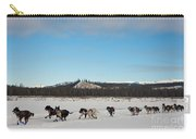 Team Of Sleigh Dogs Pulling Carry-all Pouch