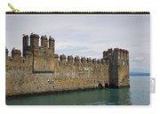 The Castle Of Sirmione. Lago Di Garda Carry-all Pouch