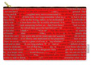 The Gettysburg Address Carry-all Pouch
