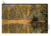 The Grand Tetons Schwabacher Landing Grand Teton National Park Carry-all Pouch