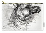 The Horse Sketch Carry-all Pouch