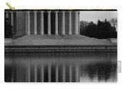 The Jefferson Memorial Carry-all Pouch by Cora Wandel