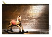 The Old Rocking Horse In The Attic Carry-all Pouch