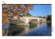 The River Thames At Hampton Court London Carry-all Pouch