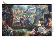 Tintoretto's The Worship Of The Golden Calf Carry-all Pouch