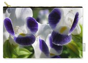 Torenia From The Duchess Mix Carry-all Pouch by J McCombie