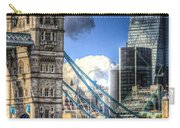 Tower Bridge And The City Carry-all Pouch
