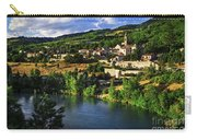 Town Of Sisteron In Provence Carry-all Pouch by Elena Elisseeva