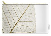 Transparent Leaf Carry-all Pouch