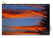 Tree In Sunset Carry-all Pouch