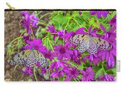 2 Tree Nymph Butterflies Carry-all Pouch