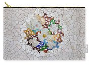 Trencadis Mosaic In Park Guell In Barcelona Carry-all Pouch