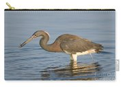Tri-colored Heron Carry-all Pouch
