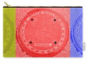 Tricolor Manhole Carry-all Pouch